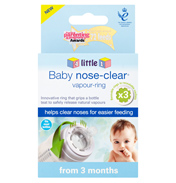 4Little1 Baby Nose-Clear Vapour Ring