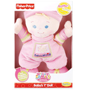 Fisher Price Brilliant Basics Baby&#39;s 1st Doll
