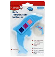 Clippasafe Dolphin Bath Temperature Indicator