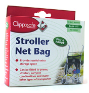 Clippasafe Shopping Net Bag For Pushchairs