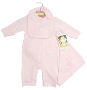 Girls 3 Piece In At Home Set