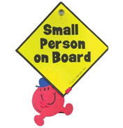 Naughty Person On Board Sign