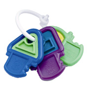 Hard N Soft Teething Keys