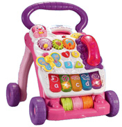Vtech Baby Pink First Steps Baby Walker