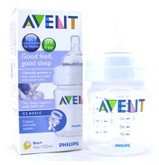 Avent Classic 4oz/125ml Feeding Bottle