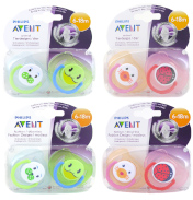 Avent Silicone Animal Soothers 6-18 Months