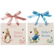 Baby's Room Door Plaque