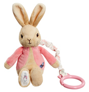Flopsy Bunny Jiggle Attachable Soft Toy