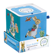 Beatrix Potter Peter Rabbit Jack in a Box
