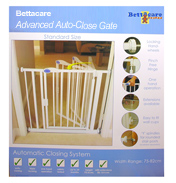 Bettacare Auto Close Gate Standard 75-82cm