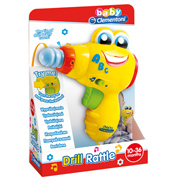 Clementoni Baby Drill Rattle Toy