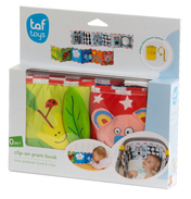 Taf Toys Clip-On Pram Book