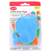 Clippasafe Mini Bath Mats 6 Pack