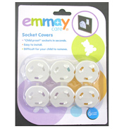 Emmay Care Socket Covers 6 PACK