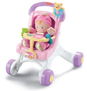 Fisher Price Brilliant Basic's Stroll Along Walker