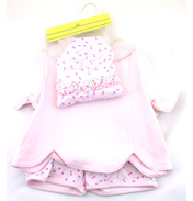 Girls 3 Piece Coverall