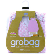 Grobag Button Rose 1.0 Tog Baby Sleep Bag 0-6…