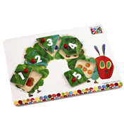 Very Hungry Caterpillar Peg Puzzle