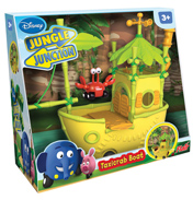Jungle Junction Taxicrab Boat Play Set