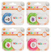Junior Macare Orthodontic Soother & Clip