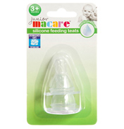 Junior Macare Silicone Feeding Teats
