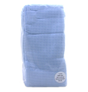 Bee Bo Muslins in Blue 12 Pack