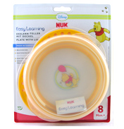 NUK Disney Winnie the Pooh Plate with Lid