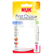 NUK First Choice Silicone Wide Neck Teat Size 1…