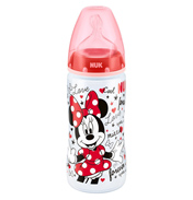 Minnie First Choice 300ml Bottle with Size 2 Silicone Teat