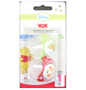 NUK Disney Winnie the Pooh Silicone Soother 6-18…