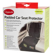 Padded Car Seat Protector Black