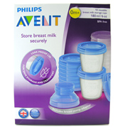 Philips Avent Breast Milk Storage Cups 180ml 10…