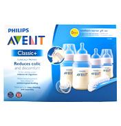 Philips Avent Classic+ Newborn Starter Gift Set