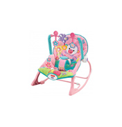 Rainforest Infant To Toddler Rocker in Pink