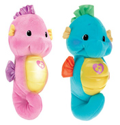 Fisher Price Soothe & Glow Seahorse in Blue