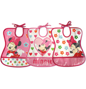Tomy Disney Minnie Mouse Tie Bib (Assorted Style)