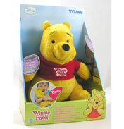 Tomy Winnie the Pooh with Sounds Plush