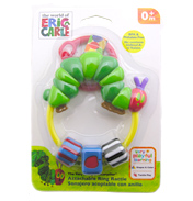 Very Hungry Caterpillar Attachable Ring Rattle
