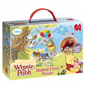 Jumbo Winnie the Pooh 15 Pieces Shaped Puzzle
