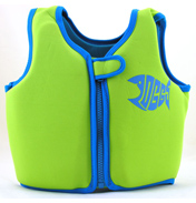 Zoggs Neoprene Swim Jacket in Green- Ages 2-3…